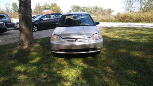 2001 HONDA CIVIC for sale in Lowell, AR