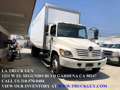 2004 HINO 268 24' MOVING GRIP TRUCK DIESEL 90K MILES WITH LIFTGATE for sale in Gardena, CA