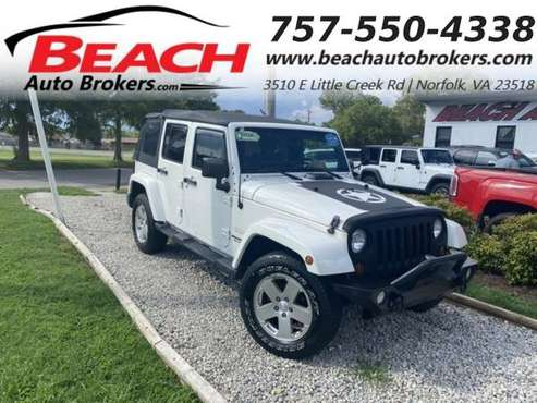 2010 Jeep Wrangler Unlimited UNLIMITED SAHARA 4X4, WARRANTY, LIFTED,... for sale in Norfolk, VA