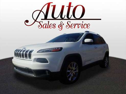 2014 Jeep Cherokee Limited - cars & trucks - by dealer - vehicle... for sale in Indianapolis, IN