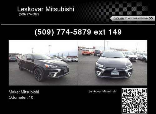 2019 Mitsubishi Outlander Sport LE for sale in Leskovar Mitsubishi, WA