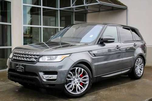 2017 Land Rover Range Rover Sport 4x4 4WD Certified 4DR SUV SC V8 SUV for sale in Bellevue, WA