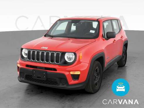 2020 Jeep Renegade Sport SUV 4D suv Red - FINANCE ONLINE - cars &... for sale in Trenton, NJ
