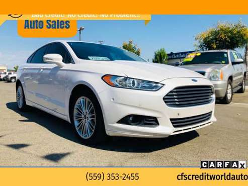 2014 Ford Fusion SE 4dr Sedan with - cars & trucks - by dealer -... for sale in Fresno, CA