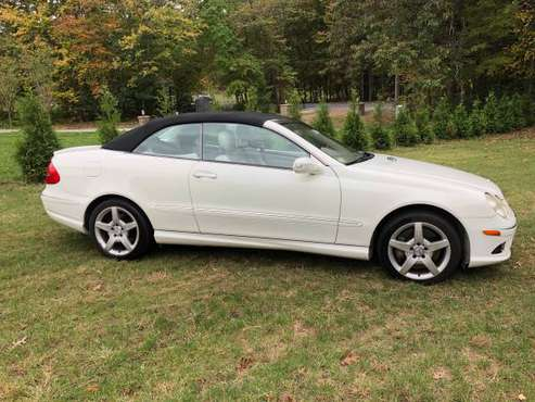 Mercedes CLK 550 AMG White Convertible FAST! for sale in Lunenburg , MA