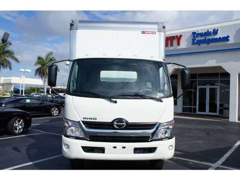 2019 Hino 195, 20ft dry-van, lgate Mike for sale in Pompano Beach, FL