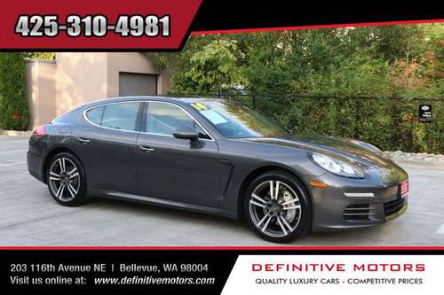2014 Porsche Panamera 4S * AVAILABLE IN STOCK! * SALE! * for sale in Bellevue, WA