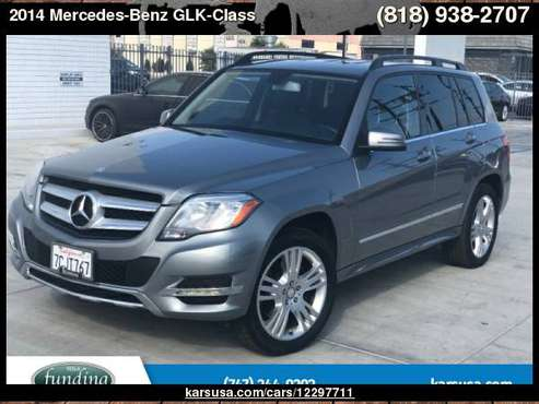 2014 Mercedes-Benz GLK-Class RWD 4dr GLK 350 with Cargo Features... for sale in North Hollywood, CA