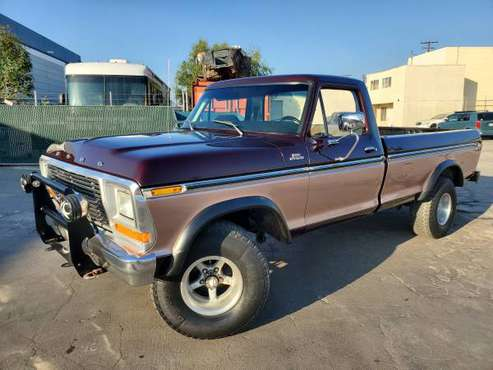 1979 Ford F150 4X4 - cars & trucks - by owner - vehicle automotive... for sale in Santa Fe Springs, CA