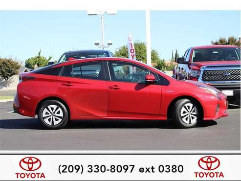 2016 Toyota Prius hatchback Three for sale in Stockton, CA