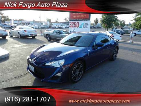 2013 SCION FR-S $4000 DOWN $195 PER MONTH(OAC)100%APPROVAL YOUR JOB IS for sale in Sacramento , CA