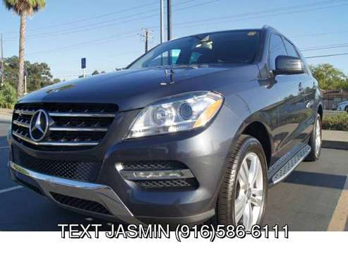 2015 Mercedes-Benz M-Class ML 350 30K MILES LOADED WARRANTY ML350 with for sale in Carmichael, CA