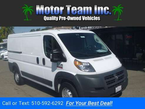 2018 RAM Promaster 1500 Low Roof Tradesman 136-in. WB White GOOD OR for sale in Hayward, CA