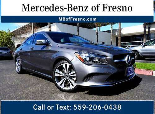 2019 Mercedes-Benz CLA CLA 250 HUGE SALE GOING ON NOW! for sale in Fresno, CA