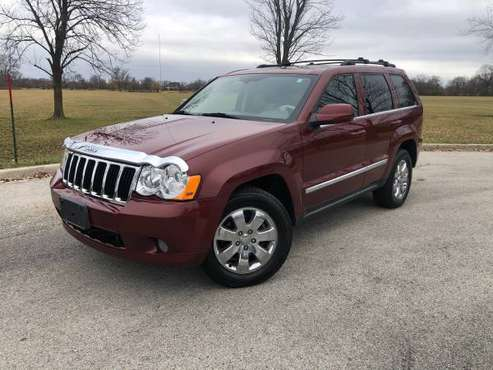 2008 JEEP GRAND CHEROKEE LIMITED 4X4 TURBO DIESEL *RARE!!! - cars &... for sale in Chicago, IL