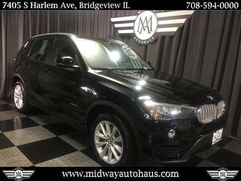 2017 BMW X3 xDrive28i Sports Activity Vehicle for sale in Bridgeview, IL