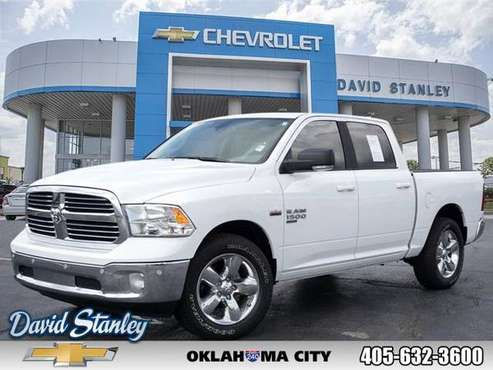 2019 Ram 1500 Classic White SEE IT TODAY! for sale in Oklahoma City, OK