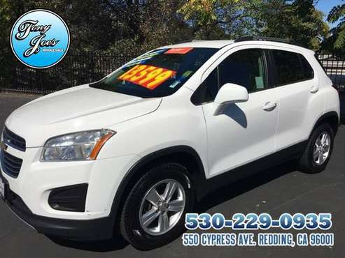 2015 Chevy Trax LT Sport AWD, 4-Cyl,Turbo, 1.4 Liter....24/34 MPG..CER for sale in Redding, CA