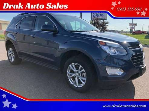 2016 Chevy Equinox LT *WARRANTY* LOW MILES** FINANCING AVAILABLE for sale in Ramsey , MN