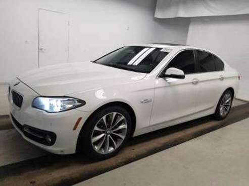 2016 *BMW* *5 Series* *528i xDrive* Alpine White for sale in south amboy, NJ