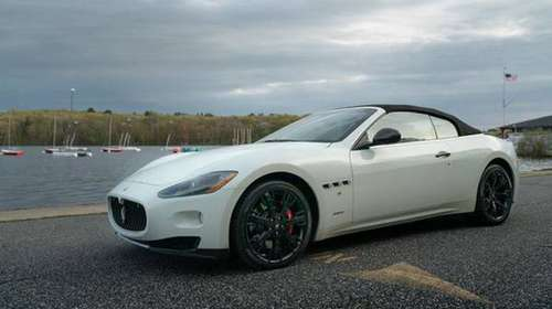 2011 *Maserati* *GranTurismo Convertible* *2dr* WHIT for sale in Shrewsbury, MA