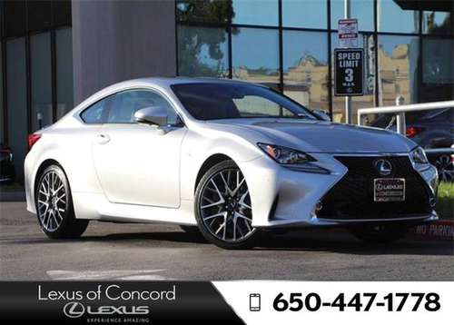 2017 Lexus RC 350 Monthly payment of for sale in Concord, CA
