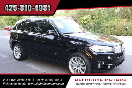 2016 BMW X5 xDrive50i INDIVIDUAL EXECUTIVE * AVAILABLE IN STOCK! * SAL for sale in Bellevue, WA