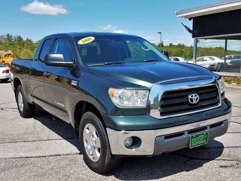 2008 Toyota Tundra Double Cab TRD SR5 4X4, 167K, 5.7L, Auto, AC, CD for sale in Belmont, ME