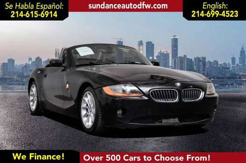 2003 BMW Z4 2.5i -Guaranteed Approval! for sale in Addison, TX