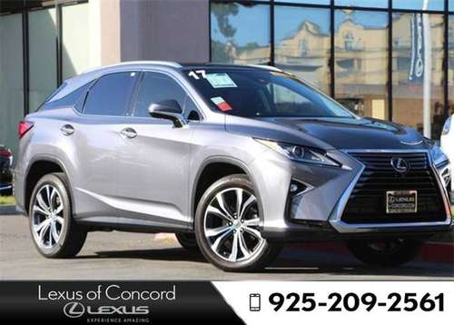 2017 Lexus RX 450h F Sport Monthly payment of for sale in Concord, CA