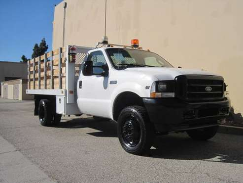 Ford F-450 F450 4X4 12′ Stake Bed Flatbed Stakebed Flat Bed F550 4WD for sale in Signal Hill, OR