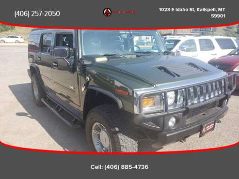2003 HUMMER H2 - Financing Available! for sale in Kalispell, MT