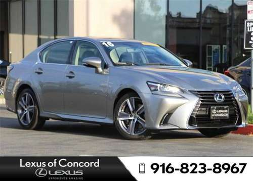 2016 Lexus GS 350 Monthly payment of for sale in Concord, CA