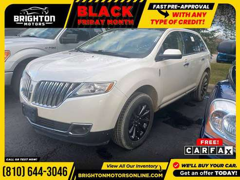 2011 Lincoln MKX Base AWD! AWD Wagon FOR ONLY $222/mo! - cars &... for sale in Brighton, MI