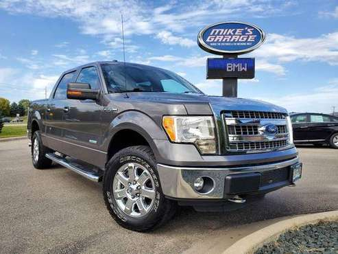 2013 Ford F-150 XLT 4x4 4dr SuperCrew Styleside 5.5 ft. SB for sale in Faribault, MN