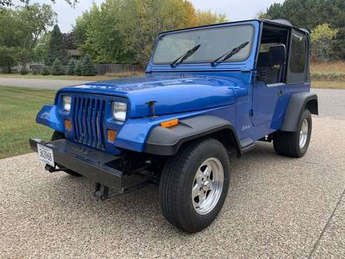 93 Jeep Wrangler Turbo LS swapped - cars & trucks - by owner -... for sale in Circle Pines, MN