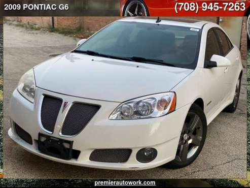 2009 PONTIAC G6 GXP - cars & trucks - by dealer - vehicle automotive... for sale in Alsip, IL