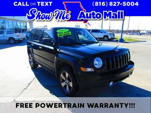 2017 Jeep Patriot High Altitude - cars & trucks - by dealer -... for sale in Harrisonville, MO