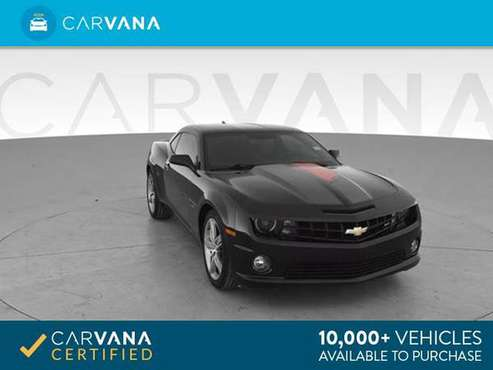 2012 Chevy Chevrolet Camaro SS Coupe 2D coupe Black - FINANCE ONLINE for sale in Round Rock, TX