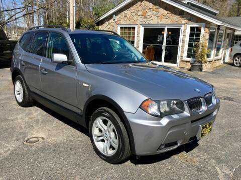 $4,499 2006 BMW X3 AWD 3.0i *174k, Leather, HUGE ROOF, Clean, MUST SEE for sale in Belmont, ME