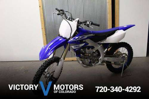 2019 YAMAHA YZ250 F - Over 500 Vehicles to Choose From! for sale in Longmont, CO