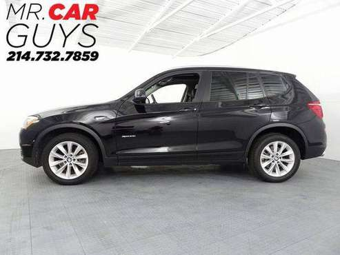 2017 BMW X3 xDrive28i xDrive28i Rates start at 3.49% Bad credit also... for sale in McKinney, TX