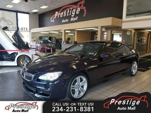 2015 BMW 650i xDrive Gran Coupe for sale in Cuyahoga Falls, OH