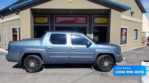 2007 Honda Ridgeline RTS AWD 4dr Crew Cab for sale in Garden City, ID