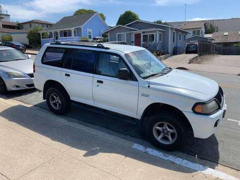 2001 Montero Sport SUV- Clean Title, Smogged, Good Tags for sale in San Luis Obispo, CA