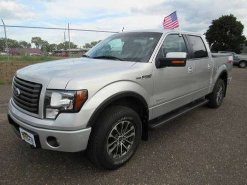 2012 Ford F-150 4WD SuperCrew 145 FX4 for sale in VADNAIS HEIGHTS, MN