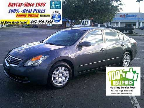 2009 Nissan Altima 4 door 2.5 SE-(1) One Owner too **Clearance Now: for sale in Orlando, FL