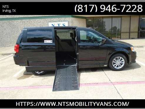 16 DODGE GRAND CARAVAN POWER RAMP MOBILITY HANDICAPPED WHEELCHAIR VAN for sale in Irving, AR