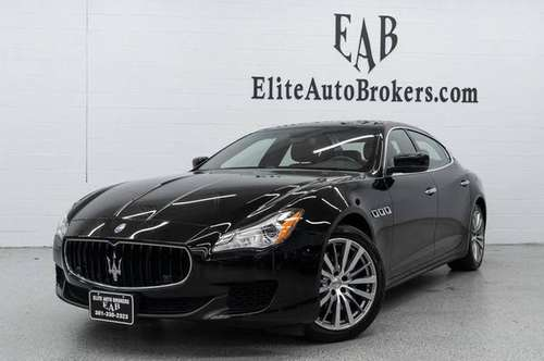 2016 *Maserati* *Quattroporte* *4dr Sedan S Q4* Nero for sale in Gaithersburg, MD