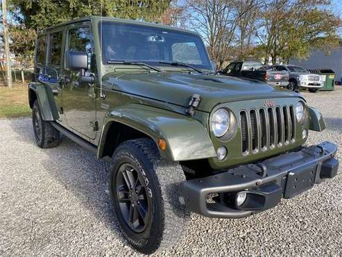 2016 Jeep Wrangler Unlimited Sahara - cars & trucks - by dealer -... for sale in Chillicothe, OH